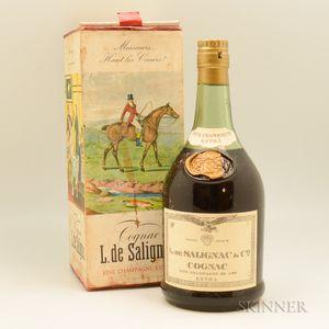 L de Salignac Fine Champagne Extra, 1 bottle (oc)