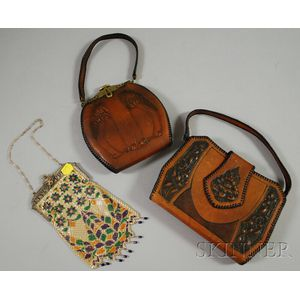 Three Vintage Purses