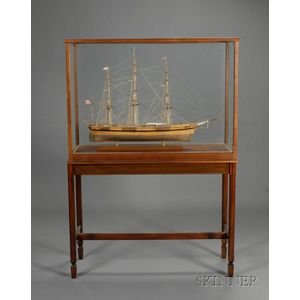 Cased Ship Model of the Queen of the Seas