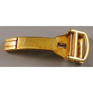 18kt Gold Cartier New York Buckle
