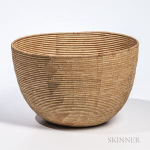 Woven Basketry Bowl