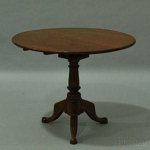 Queen Anne Cherry Birdcage Tilt-top Tea Table