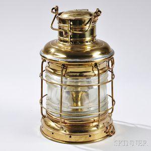 """Brass """"PERKO"""" Ship"""