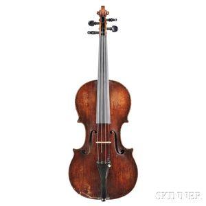 Violin, Prague School, Ascribed to Joannes Udalricus Eberle, Prague, c. 1760