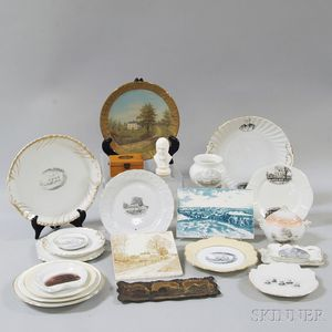 Group of John Greenleaf Whittier Commemorative Items