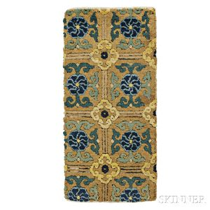 Ming Imperial Carpet Fragment