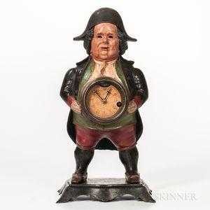 "Bradley & Hubbard ""Continental"" Blinking-eye Clock"