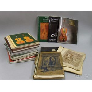 Small Lot of Music Books and Catalogues