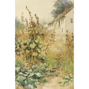 Henry W. Rice (American, 1853-1934)  Summer Garden, Castine, Maine