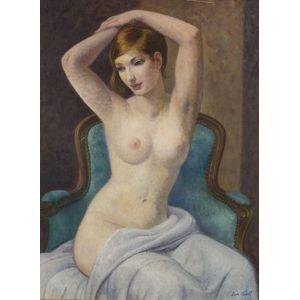 Leon Kroll (American, 1884-1975)    Portrait of a Seated Woman