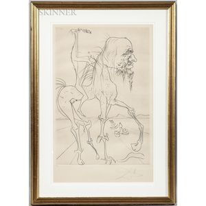 Salvador Dalí (Spanish, 1904-1989)      La Chimera D
