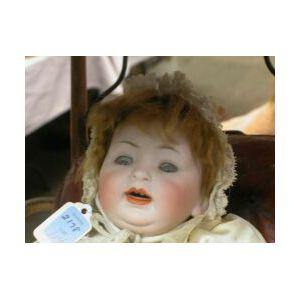 Bisque Socket Head Character Baby