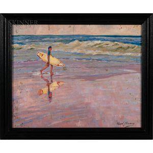 Edward Brodney (American, 1920-2002)    Surfer