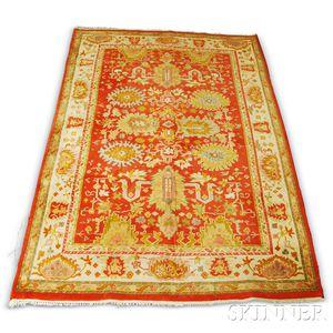 Indo-Ushak Carpet