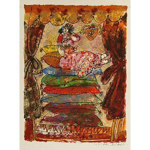 Twenty Prints:      Theo Tobiasse (French, b. 1927), Un hommage a H.C. Andersen