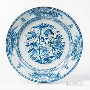 Large Export Porcelain Dish
