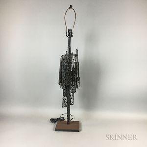 Brutalist Steel Table Lamp