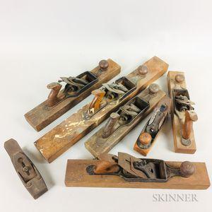 Seven Stanley Wood-bottom Cabinetmaker
