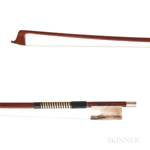 Silver-mounted Violin Bow, William Salchow