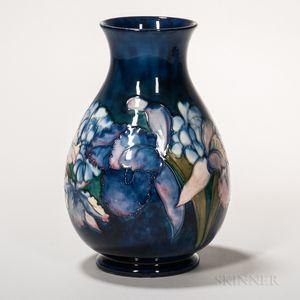 Moorcroft Pottery Orchids Design Vase