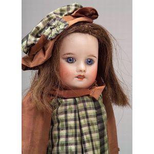 SFBJ Bisque Head Child Doll