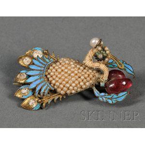 Kingfisher Hairpin