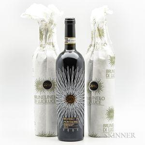 Luce Brunello di Montalcino 2010, 3 bottles