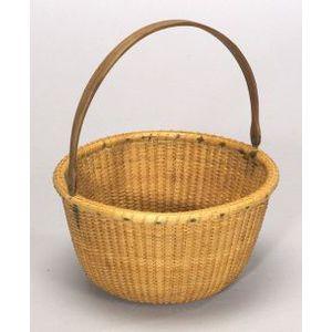 Round Nantucket Basket