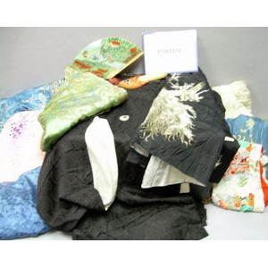 Group of Chinese and Japanese Textiles