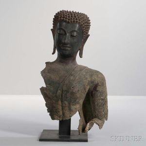 Bronze Bust of Buddha