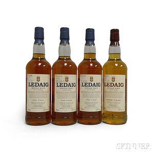 Mixed Ledaig, 4 750ml bottles