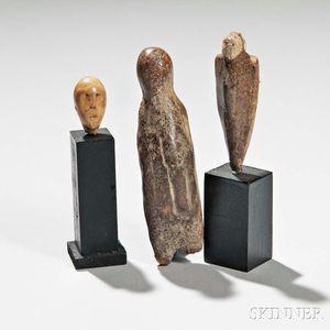 Three Eskimo Carvings