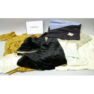 Assorted Antique Lingerie and Clothing