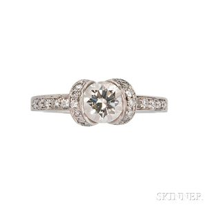 Platinum and Diamond Solitaire, Tiffany & Co.