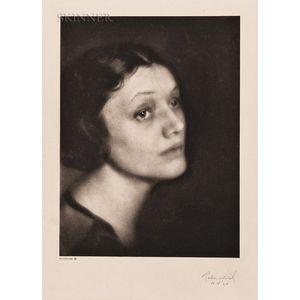 Ben Magid Rabinovitch (American, 1884–1964)    Katherine Cornell