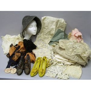 Lot of Victorian Clothes and Accessories