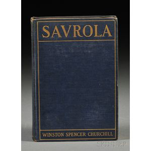 Churchill, Winston (1874-1965) Savrola. A Tale of the Revolution in Laurania