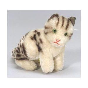 Steiff Mohair Seated Cat.