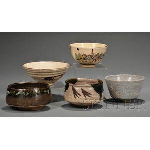 Five Tea Bowls