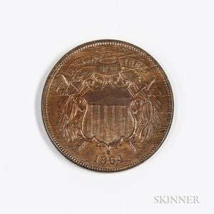 1864 2 Cents