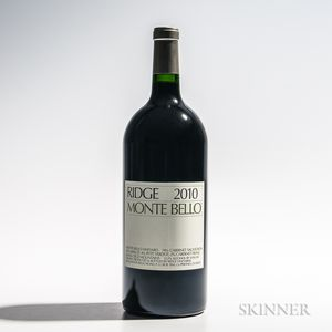 Ridge Monte Bello 2010, 1 3 liter bottle