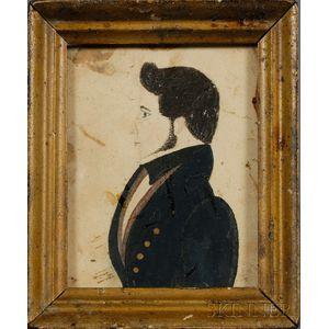 Portrait Miniature of a Gentlemen