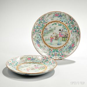 Pair of Export Plates