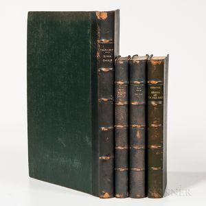 Egyptian Archaeology, Four Volumes.