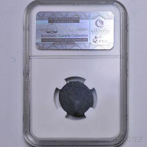 """Judaean Bar Kokhba """"Middle Bronze,"""" NGC XF"""