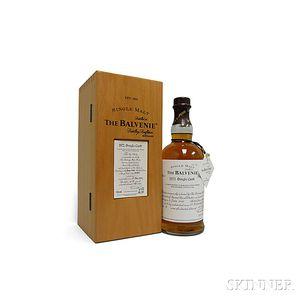 Balvenie 33 Years Old 1972, 1 750ml bottle (owc)