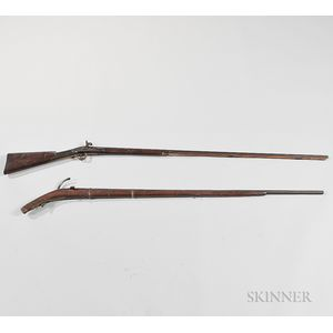 Two Smoothbore Muskets