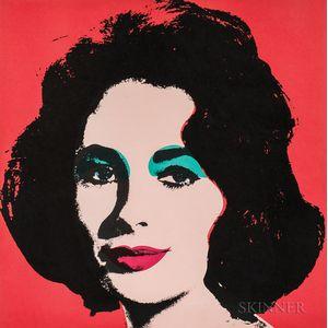 Andy Warhol (American, 1928-1987)      Liz