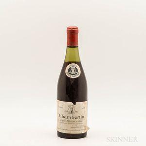 Louis Latour Chambertin Cuvee Heritiers Latour 1955, 1 bottle