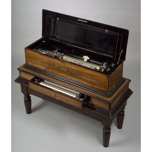 Interchangeable 17 1/2-inch Sublime Harmony Piccolo Musical Box